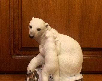 Vintage Lenox polar bears