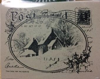 Christmas card set of 10