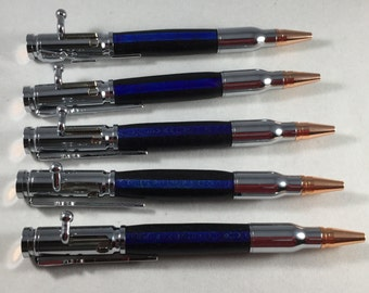 Thin Blue Line Pen/ Police/ Cop/State Trooper/ law enforcement/ sheriff