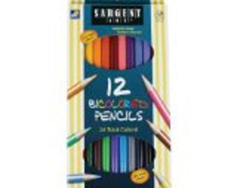 Bi-Colored Pencils 12ct