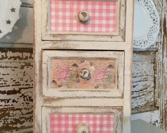 Shabby Chic Mini Drawers