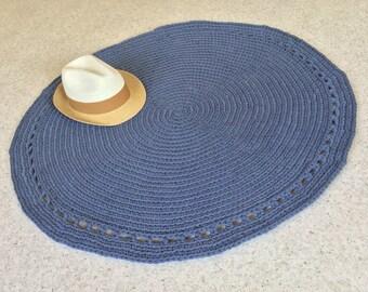 Crochet Rug TShirt Yarn 100cm