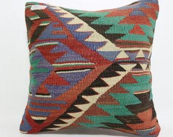 Cushion Cover geometric design Pillow 16x16 floor pillow Multicolour pillow throw pillow Sofa pillow decorative pillow home decor SP4040-863