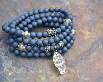 Necklace/Bracelet MALA ANGEL LEAF