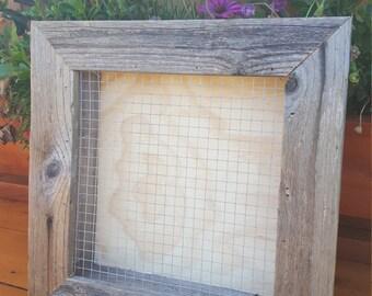 Reclaimed Wood Vertical Planter Box