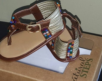 Infant rhinestone sandals