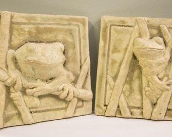 Frog Plaque/Tiles