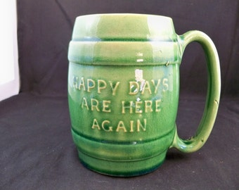 "Hull ""Happy Days are Here Again"" Mug"