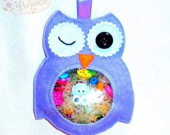 I spy toy, Busy toy, Montessori, Sensory toy, Learning Toy, seek and find, Kids quiet travel, toddler quiet, Travel Toy, owl