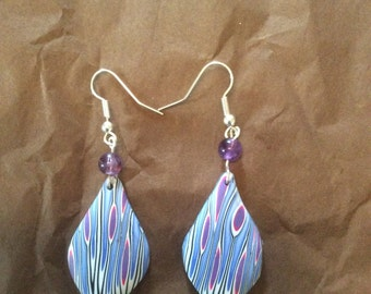 Organic style earrings
