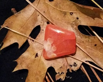 Red Carnelian cabochon