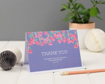 Thank You Greeting Card, Thank You Card, Christian Cards