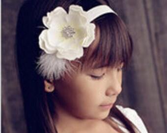 Girl Headband, Baby Head Band, Headband, Birthday Headband, Toddler Headband, Little Girl Headband, Infant Headband, Baby Gift.