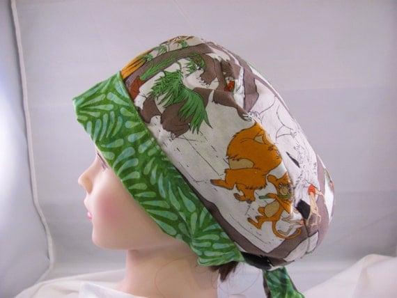 Women's Pixie Scrub Hat Jungle Book