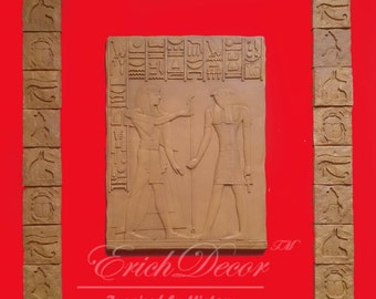 """42"""" Egyptian Wall Plaques - Home Decor - Wall Sculpture"""