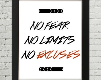 No Fear No Limits No Excuses, Workout Motivation, Gym Motivation, Fitness Motivation, Motivation To Work Out, Workout Motivational Quotes