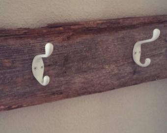 Barnwood/coat hook/rustic