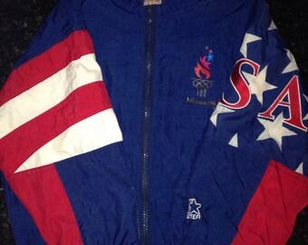 Starter USA Atlanta 1996 Olympics Jacket
