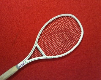 Vintage Fox Tennis Racquet Ceramic Precision WB-215 With Cover
