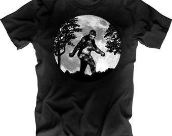 Sasquatch Moon Shirt