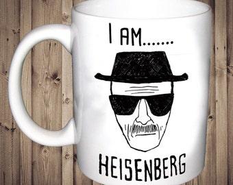 I am Heisenberg Breaking Bad TV show Mug Birthday Gift Present Tea Cup