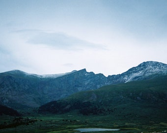 Guanella Pass   - 35mm Film Photography Print