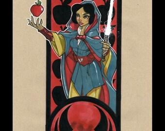 Snow White Jedi Cloak