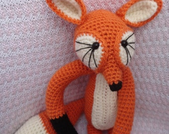 Crochet Fox toy