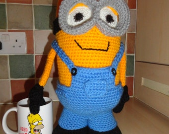 Crochet Minion Amigurumi