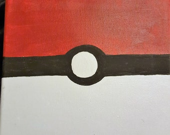 Pokeball Canvas