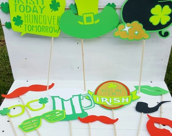 St. Patrick's Day Photo Booth Props - St. Patrick's Day Party - St. Patrick's Day Photo Booth - Photo Booth Props