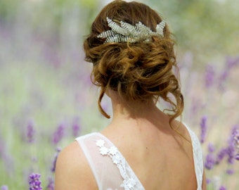 Flower crown, wedding crown, Wedding Hair piece, babys breath comb, bridal hair piece, wedding comb, floral comb, wedding head piece