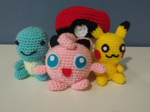Amigurumi Crochet Pokemon by Cuchihamas on Etsy