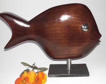 Sculpture fish