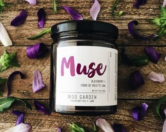 MUSE (Blackberry + Creme de Violette Jam)