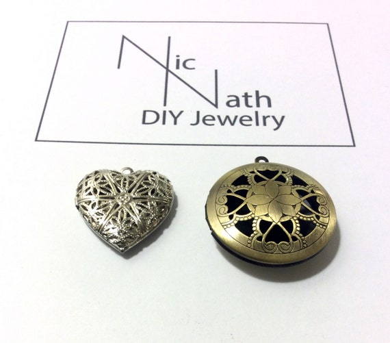 Brass Lockets Jewelry Supply Wholesale Pendant Connector