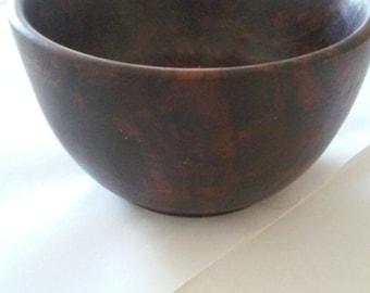 Small Walnut Wood Bowl