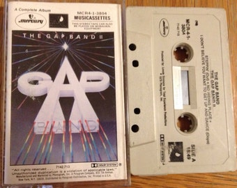 """The Gap Band """"The Gap Band II"""" Vintage Cassette Tape in good shape"""