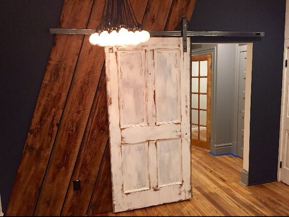 Rustic Chic Distressed Barn Door
