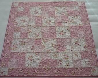 Chenille Baby Girl Quilt