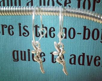 Fairy Charm Hoop Earrings