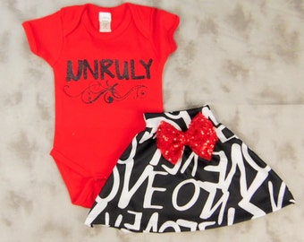 Red Unruly Onesie