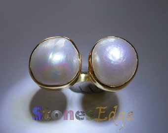 Pearls Ring (handmade) (SE-R-014)