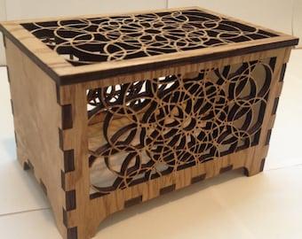 Decorative Box, Desk Chest or Jewelry Box