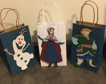 Frozen Favor Bags