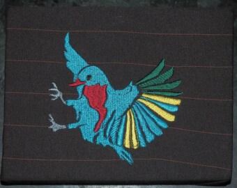 Bird Embroidery Artwork