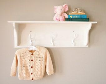 Cute Simple Shelf with Hooks