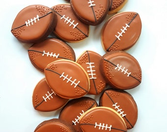 25% off! Vintage Football Cookies