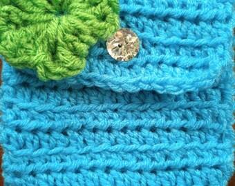 5x5 Crochet Pouch/ Handbag/ Purse