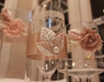 Rustic Flower Vases